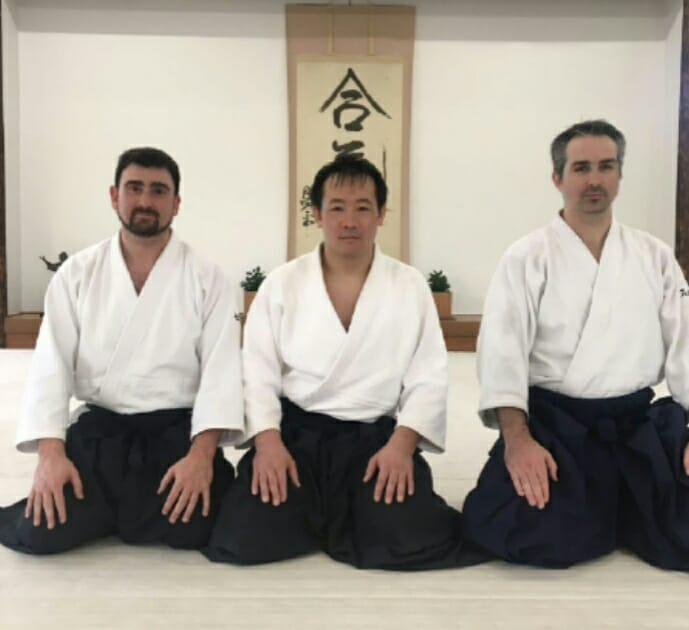Junto a Sasaki Teijyu Shihan
